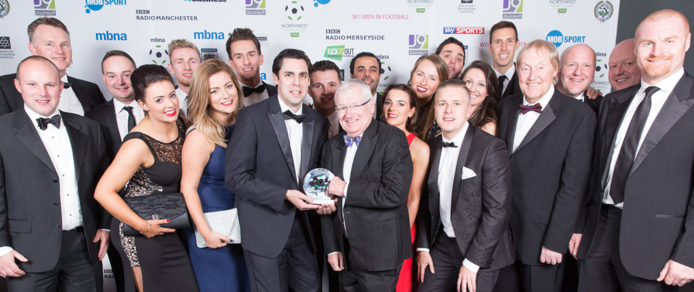 Burnley FC in the Community named Community Club of the Year at the North West Football Awards