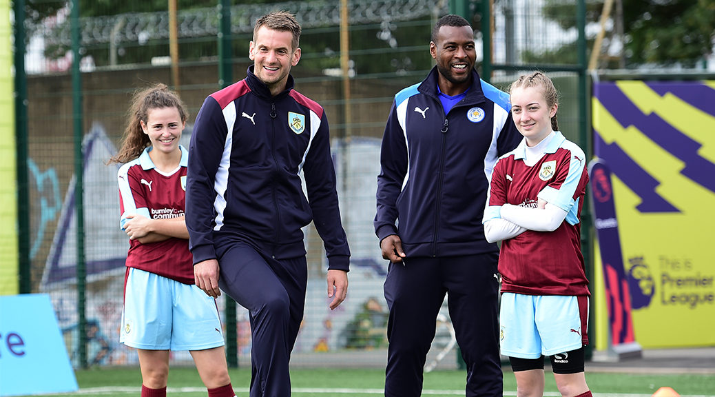Burnley FC in the Community launch Girls' Football Academy