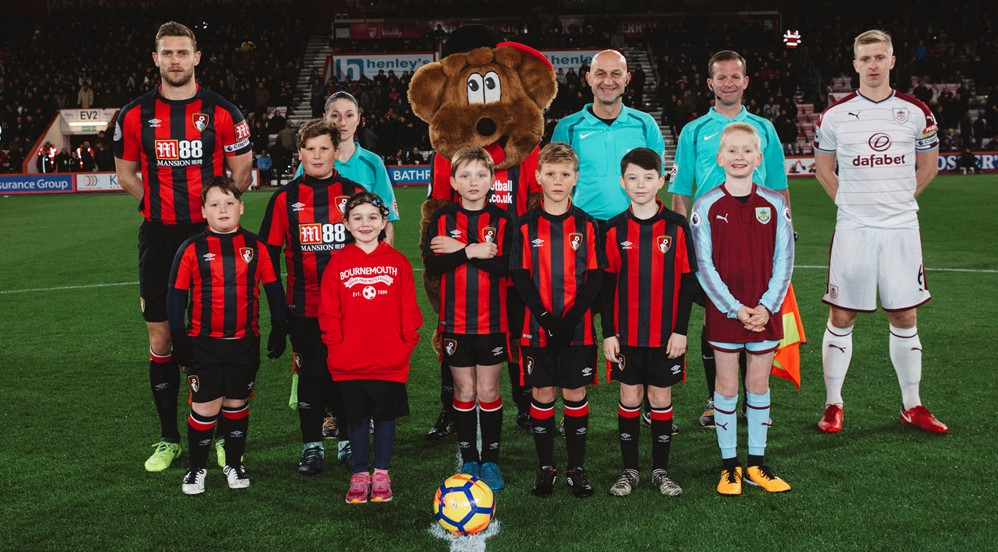Will enjoys a fantastic day at Vitality Stadium! - Burnley ...