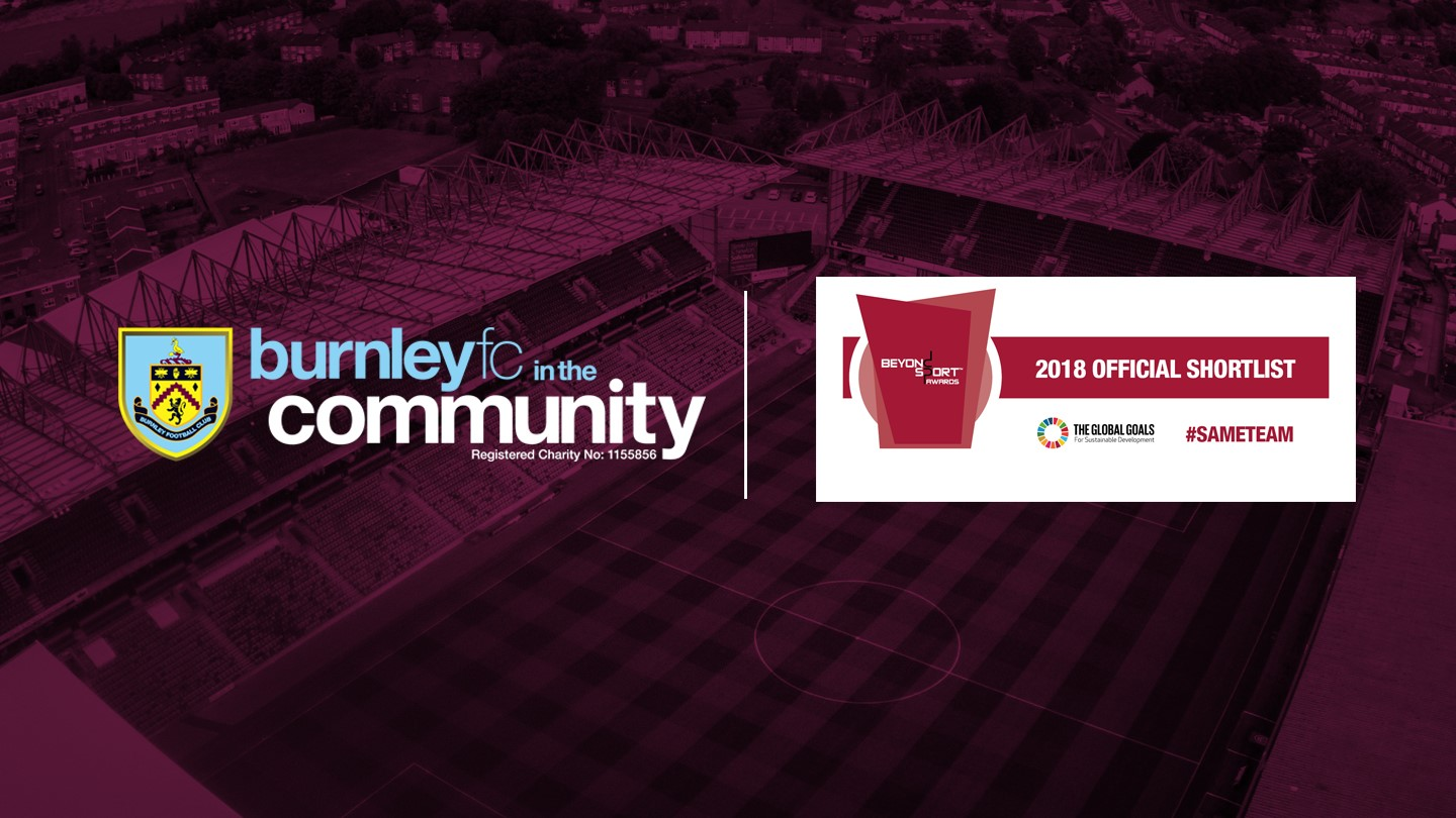 Burnley FC in the Community nominated for global award