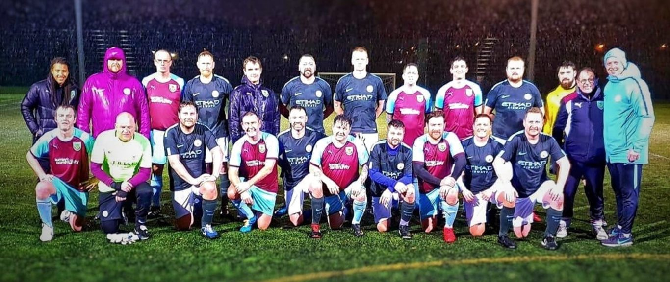 MATCH REPORT: Burnley FC Veterans 1-2 Manchester City Veterans - Burnley FC  in the Community