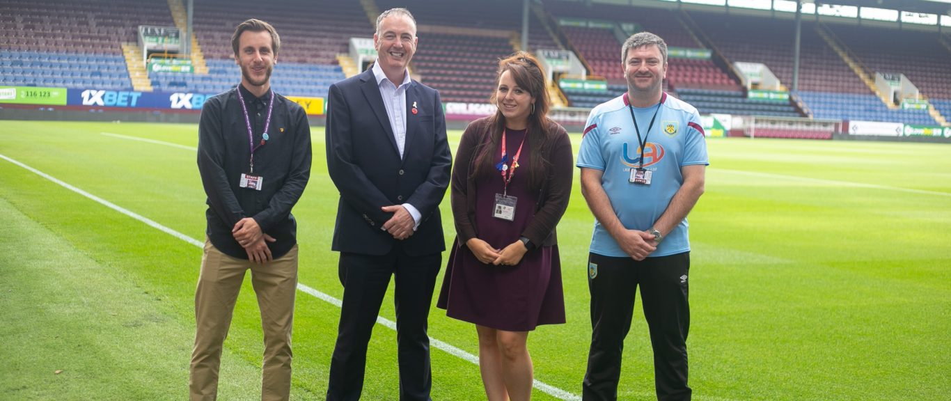 Burnley FC in the Community pledges support to victims of crime