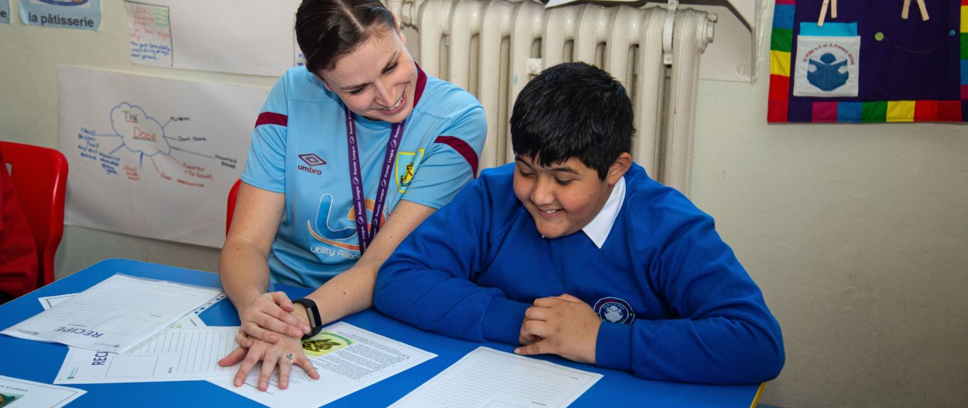 Primary school pupils encouraged to be ambitious for this year's Premier League Writing Stars poetry competition