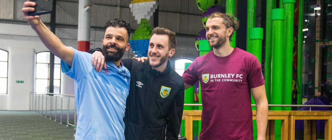 Football family joins forces for refugee tournament