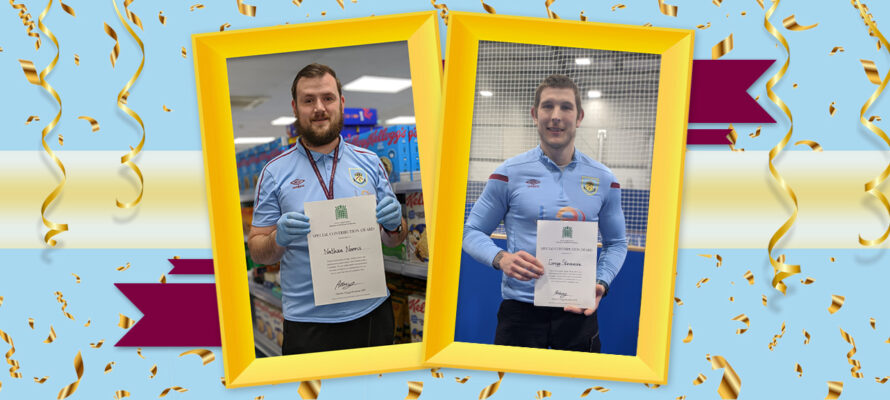 Nathan and Gregg receive MP's Special Contribution Awards