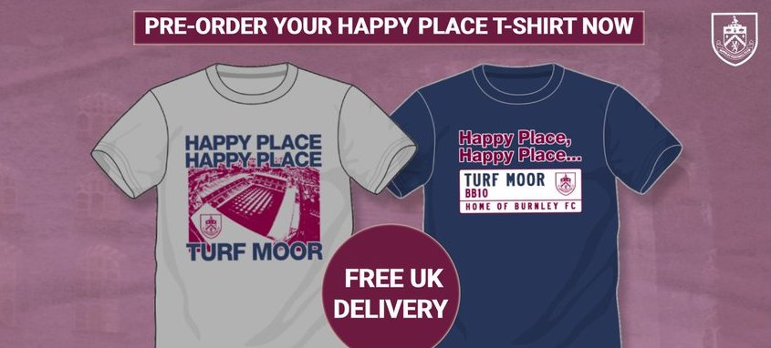 'HAPPY PLACE, HAPPY PLACE, TURF MOOR'