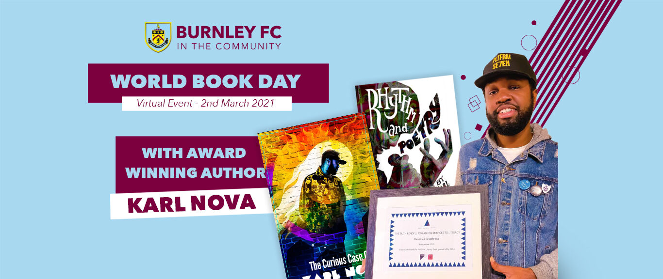 Join us to celebrate World Book Day with Karl Nova!