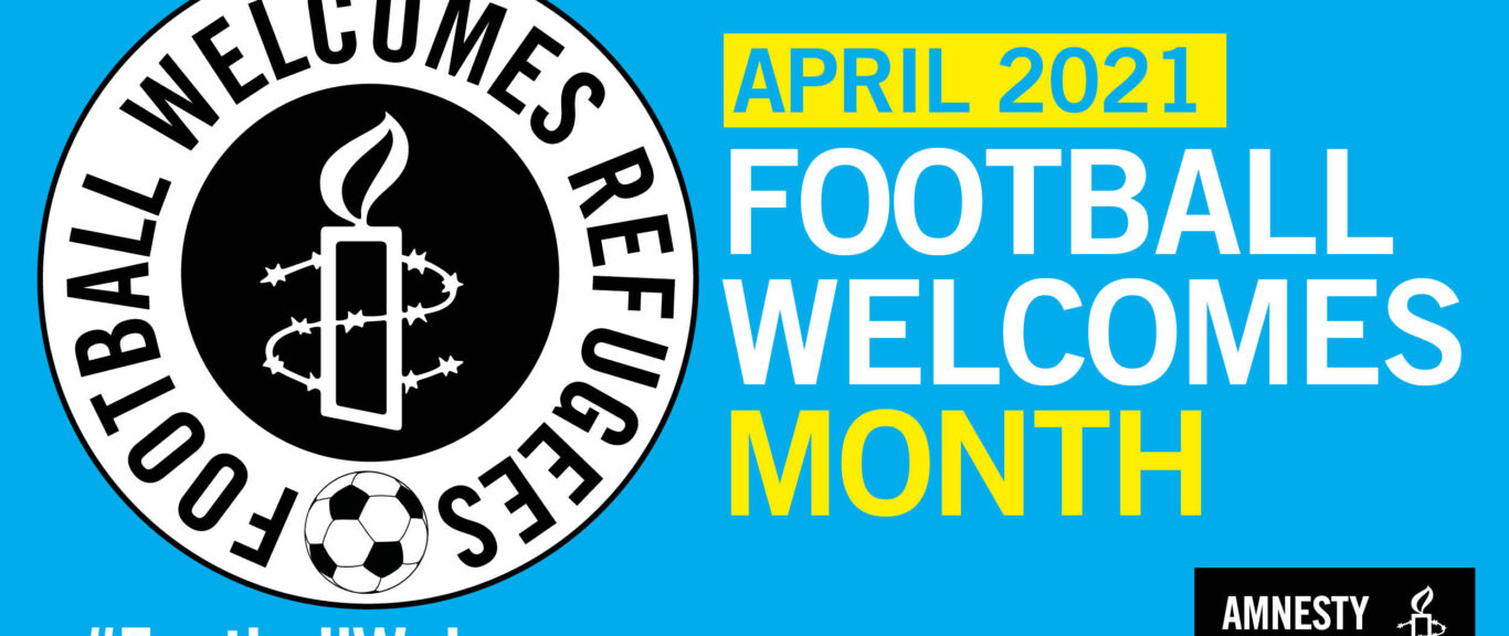 Burnley FC in the Community supports Amnesty's 'Football Welcomes' month