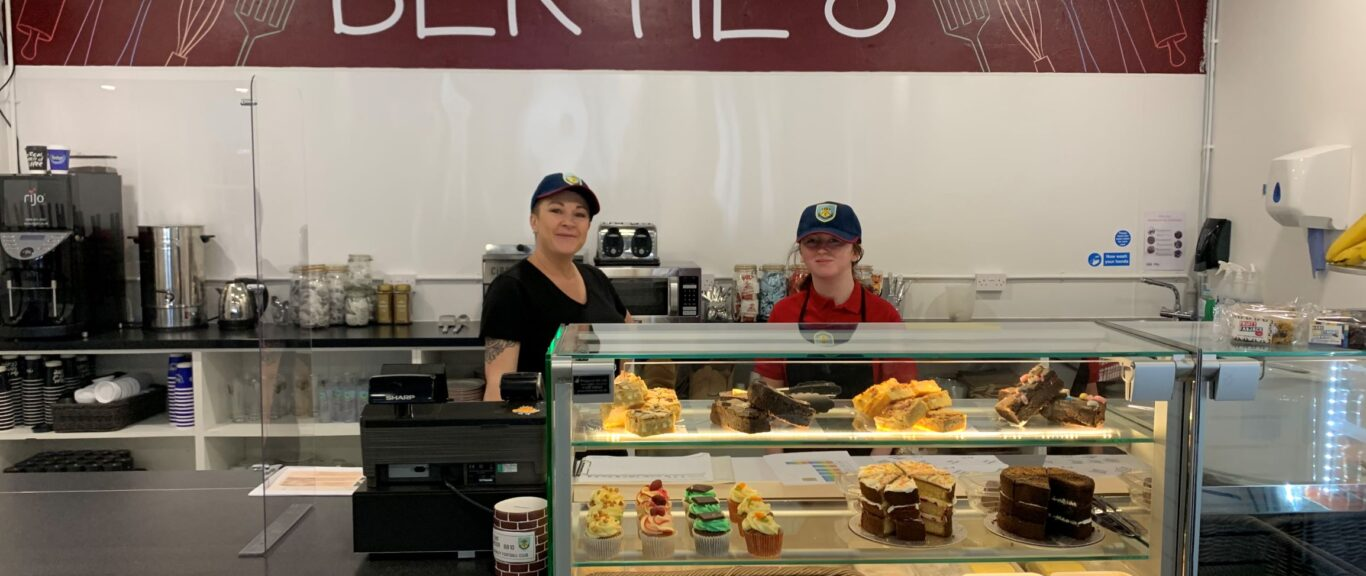 BURNLEY FC IN THE COMMUNITY KITCHEN CAFÉ OPEN FOR BUSINESS!