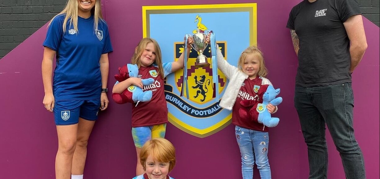 BURNLEY FC IN THE COMMUNITY CROWNED PLANET SUPER LEAGUE CHAMPIONS!